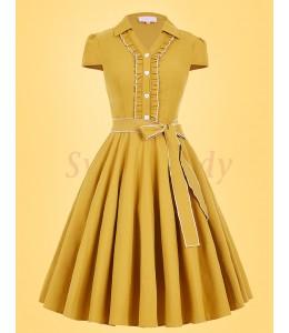 Elegantné šaty s jemným volanikom