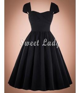 Dievčenské šaty vo vintage štýle