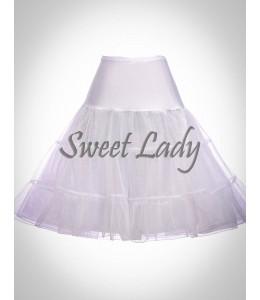 Biela vintage spodnička 14