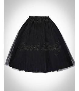 Čierna retro spodnička 19