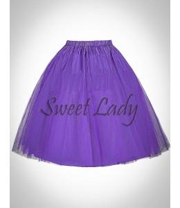 Fialová vintage spodnička