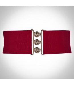 Červený opasok k retro šatám