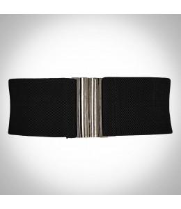 Čierny opasok k retro šatám
