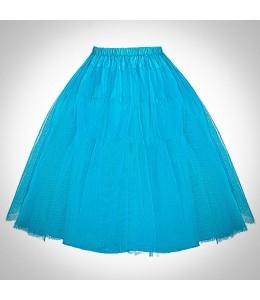Modrá retro spodnička 1