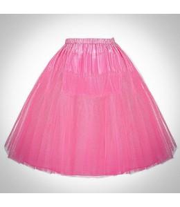 Ružová retro spodnička 3