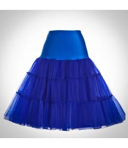 Tmavomodrá spodnička pod retro šaty 5