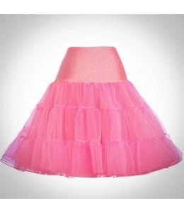 Ružová spodnička pod retro šaty 7