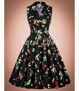 Zaujímavé letné šaty z 50. rokov