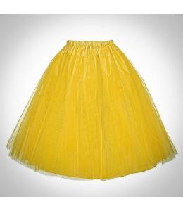 Žltá retro spodnička