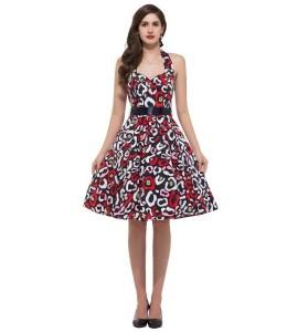 Zaujímavé vintage šaty