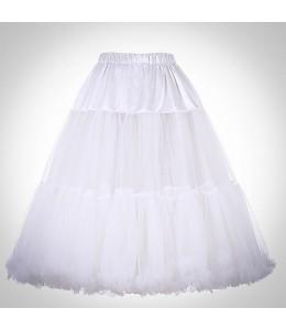 Biela vintage spodnička