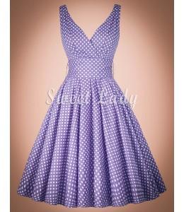Štýlové áčkové šaty z 50. rokov