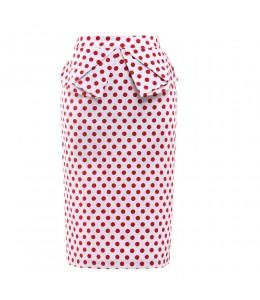 Roztomilá úzka retro sukňa