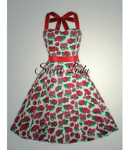 Jahôdkové šaty